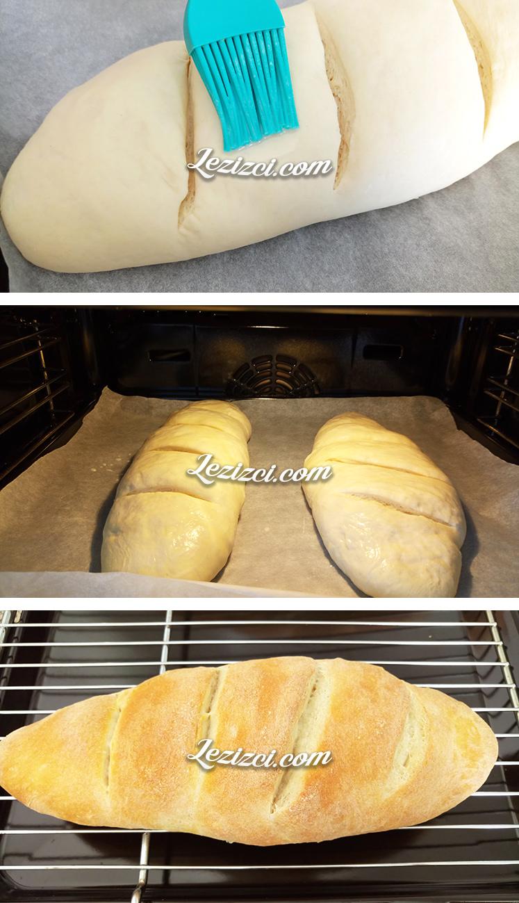 Evde Yaş Mayalı Ekmek Yapımı