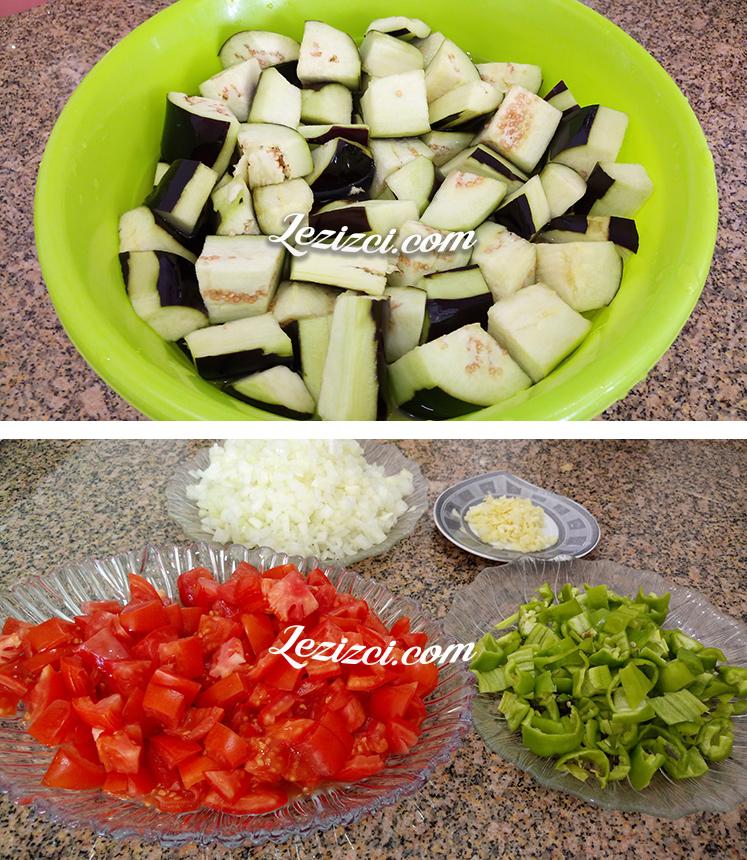 Güveçte Etli Patlıcan