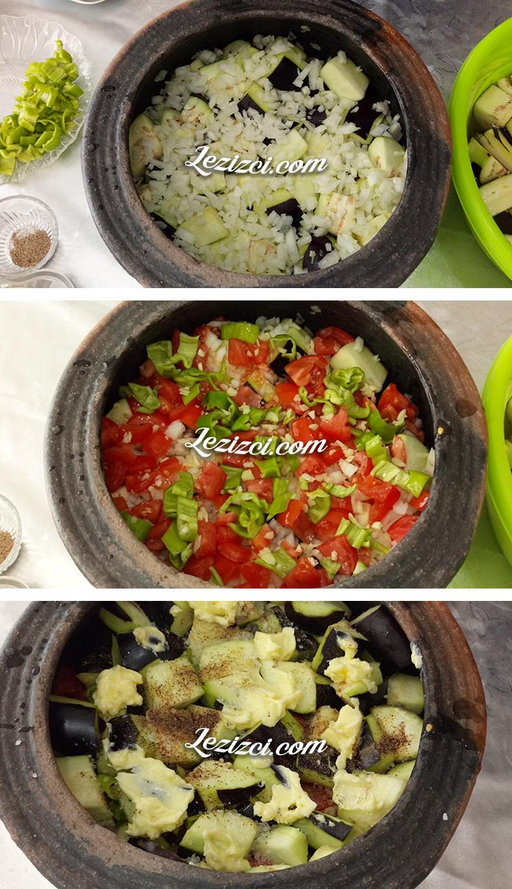 Güveçte Etli Patlıcan Nasıl Yapılır